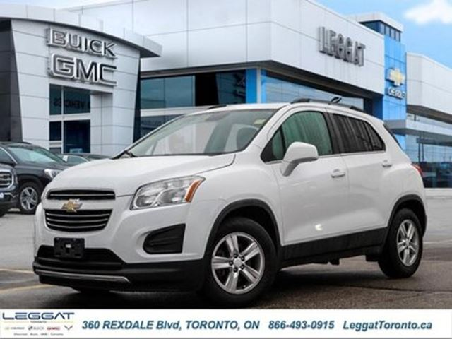 2016 CHEVROLET TRAX LT -  Remote Start -  Bluetooth in Rexdale, Ontario