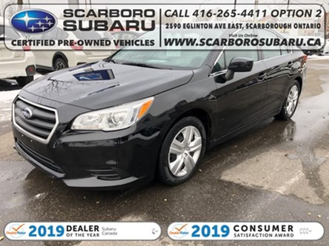 2016 SUBARU LEGACY 2.5i, FROM 1.99% FINANCING AVAILABLE in Scarborough, Ontario