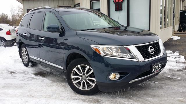 2015 Nissan Pathfinder SL 4WD - LEATHER! NAVIGATION! 360 CAM! 7 PASS!  in