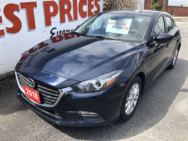 2018 MAZDA MAZDA3 GS Only 36192 kms! Experience the Davey Difference! in Oshawa, Ontario