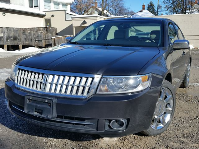2007 LINCOLN MKZ AWD Sunroof, Heated Leather, Chrome Wheels!!! in St Catharines, Ontario