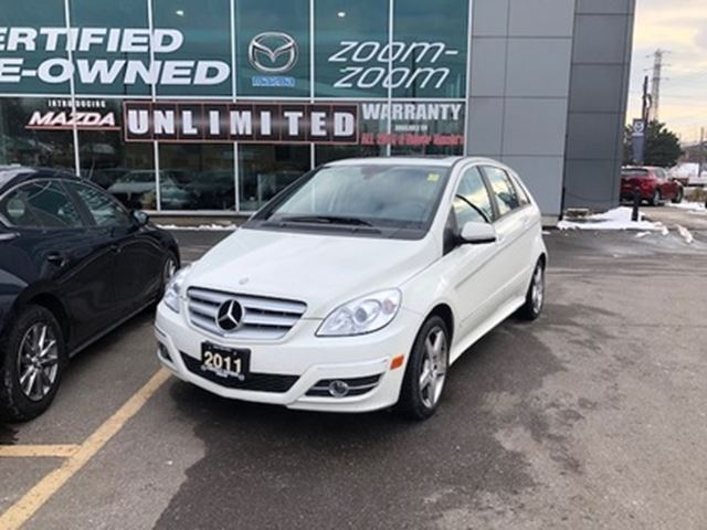 2011 Mercedes-Benz B-Class B200 BLUETOOTH, ALLOYS, PANORAMIC ROOF, NO ACCIDENT in