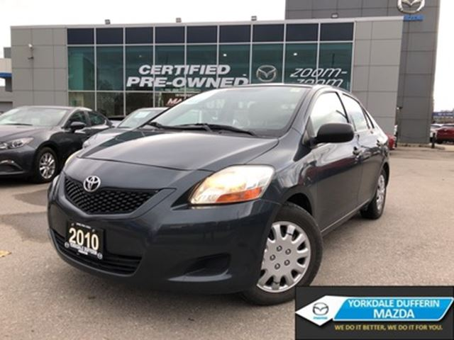 2010 Toyota Yaris 4-door Sedan 4A AS IS, *AUTOMATIC*, POWER GROUP, A in