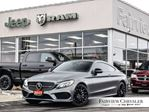 2017 Mercedes-Benz C-Class AMG 43 MATTE GREY PANO ROOF PREMIUM AUDIO in Burlington, Ontario