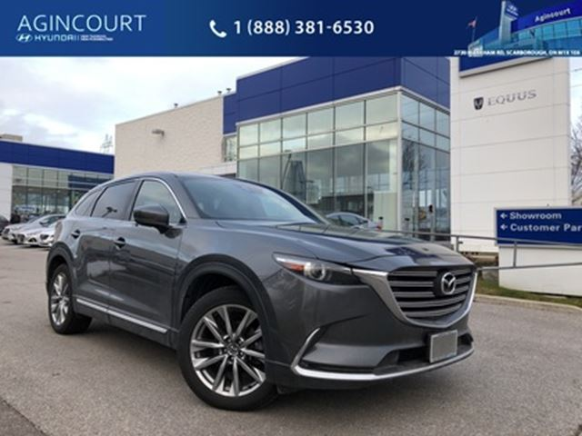 2017 Mazda CX-9 GT*NAVIGATION*LEATHER*SUNROOF*BACKUPCAMERA*CLEAN in