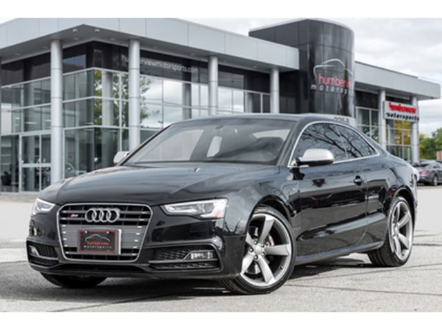 2016 AUDI S5 NAVIGATION REAR CAM SUNROOF HEATED SEATS 333HP! in Mississauga, Ontario