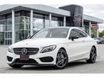 2018 Mercedes-Benz C-Class AMG C43 NAVI REAR CAM HEATED SEATS 362 HP 384 TQ in Mississauga, Ontario