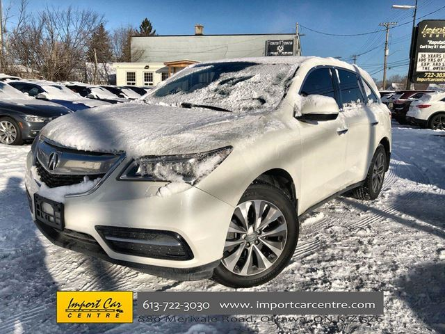 2015 ACURA MDX Navigation Package in Ottawa, Ontario