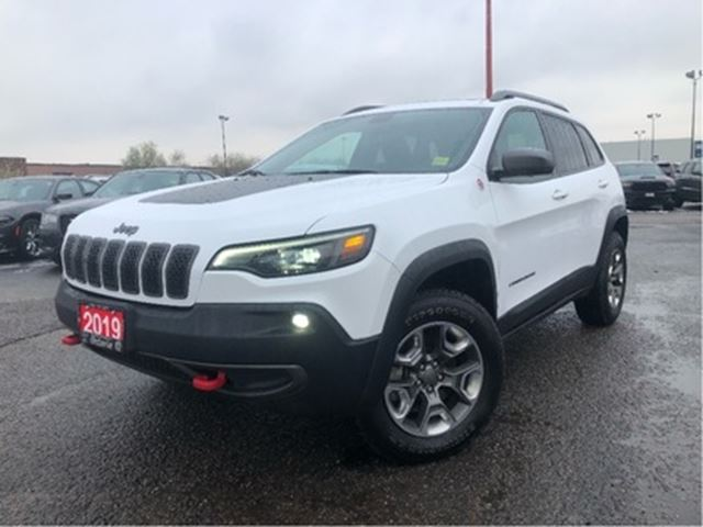 2019 Jeep Cherokee TRAILHAWK**LEATHER**PANO SUNROOF**NAV**BACK UP CAM in Mississauga, Ontario