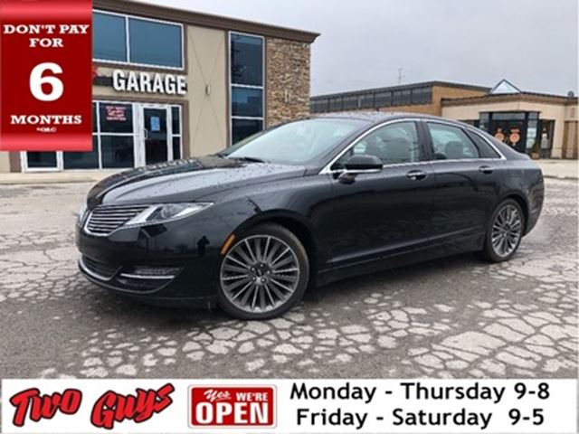 2016 LINCOLN MKZ Reserve   Sunroof   Nav   THX Audio   Leather   AW in St Catharines, Ontario