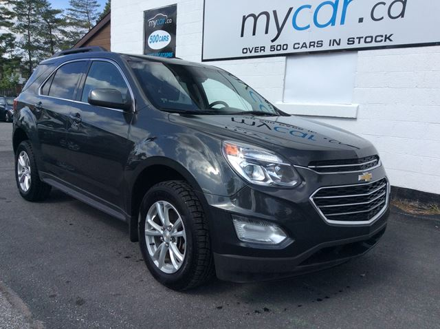 2017 Chevrolet Equinox 1LT NAV, POWER SUNROOF, HEATED SEATS!! in