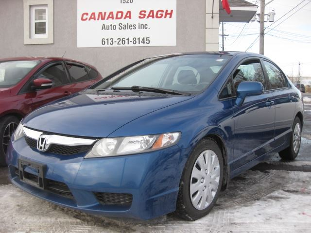 2011 HONDA CIVIC SE, CLEAN CARPROOF, ONE OWNER, 12 M WRTY+SAFETY in Ottawa, Ontario