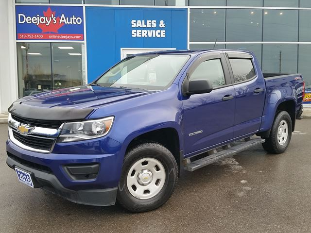 2016 CHEVROLET COLORADO 4WD WT in Brantford, Ontario