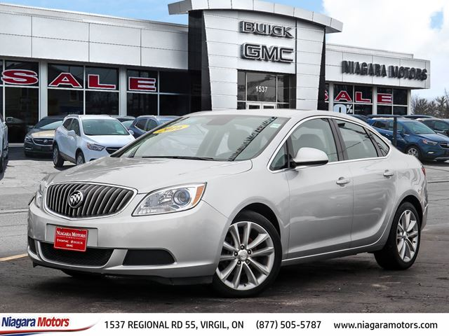 2016 BUICK VERANO CX ONE OWNER POWER SEAT BLUETOOTH REAR CAMERA in Virgil, Ontario