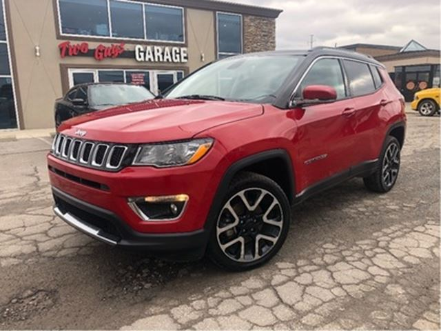 2018 JEEP COMPASS Limited   Leather   Sunroof   4WD   Navigation in St Catharines, Ontario