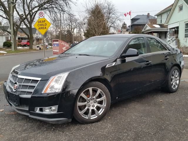 2008 CADILLAC CTS AWD Performance Package Factory Navigation  in St Catharines, Ontario