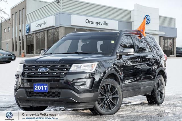 2017 Ford Explorer XLT - 4WD Sport PKG W/ Navi & Panoroof in