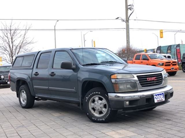 2006 GMC Canyon Crew Cab 126.0  WB SLE Z85 in Mississauga, Ontario