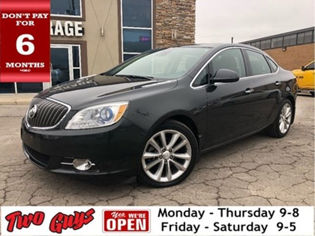 2015 BUICK VERANO Leather Moonroof Back Up Camera Navigation in St Catharines, Ontario