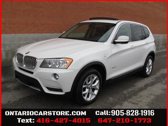 2013 BMW X3 xDrive28i LEATHER SUNROOF !!!NO ACCIDENTS!!! in Toronto, Ontario