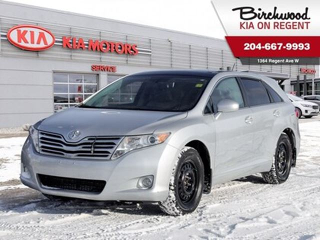 2010 TOYOTA Venza Base *Two Sets Of Rims And Tires/Bluetooth* in Winnipeg, Manitoba