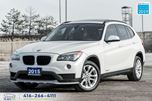 2015 BMW X1 Navi^PanoRoof^Warranty^Certified^Finance^1Owner51k in Toronto, Ontario