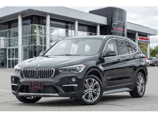 2018 BMW X1 NAVIGATION BACKUP CAM PANO ROOF HEATED SEATS in Mississauga, Ontario