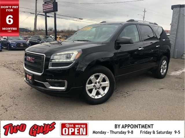 2016 GMC Acadia AWD Parking Assist Rear 3rd Row Seating in St Catharines, Ontario