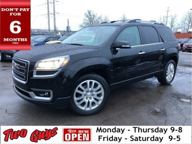 2016 GMC Acadia AWD Navigation Leather Sunroof Parking Assist Rear in St Catharines, Ontario
