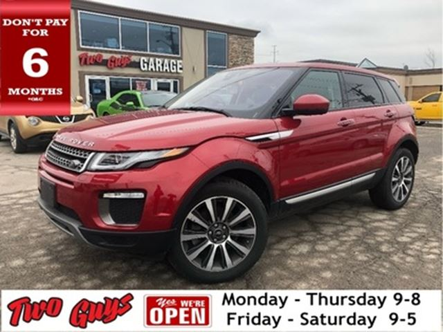2016 LAND ROVER Range Rover Evoque 4x4 Navigation Back Up Camera Leather Glass Roof in St Catharines, Ontario