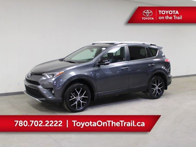 2016 TOYOTA RAV4 SE; LEATHER, AWD, NAV, SUNROOF, CAR STARTER, HEATED SEATS, BACKUP CAMERA in Edmonton, Alberta