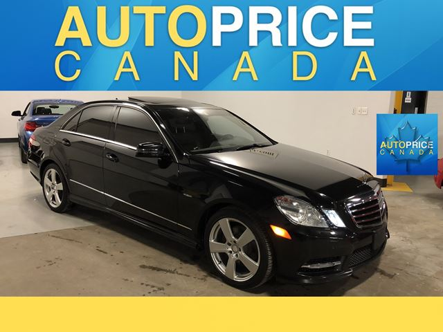 2012 Mercedes-Benz E-Class MOONROOF|NAVIGATION|LEATHER in Mississauga, Ontario