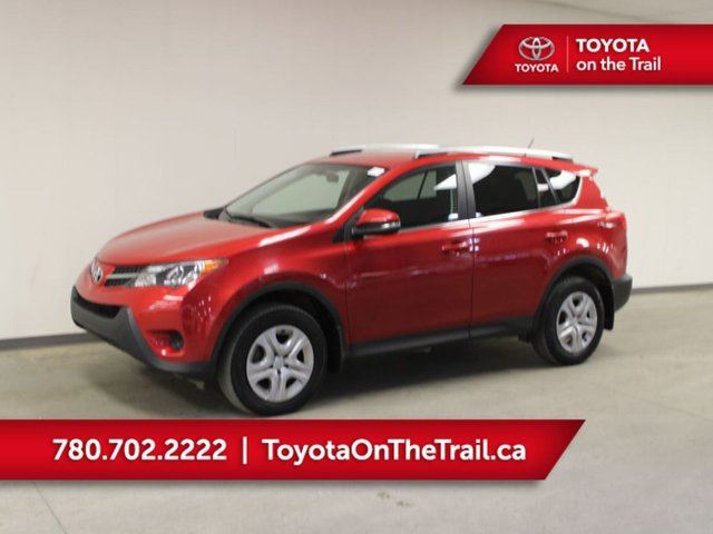 2015 TOYOTA RAV4 LE AWD UPGRADE PKG; HEATED SEATS, BACKUP CAMERA, BLUETOOTH, AIR CONDITIONING in Edmonton, Alberta