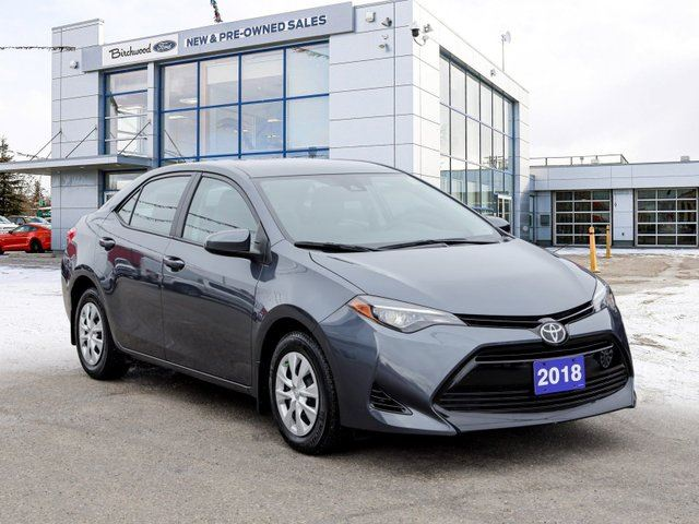 2018 TOYOTA Corolla CE LOW KM   Clean CarFAX   RearCam and more! in Winnipeg, Manitoba