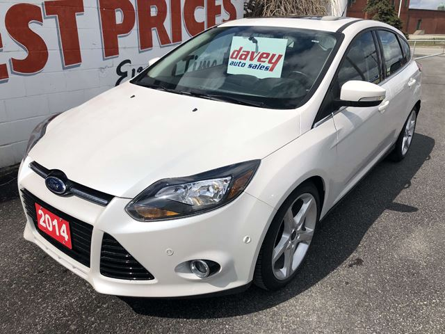 2014 Ford Focus Titanium Extra Clean! Come See the Davey Difference! in