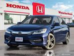 2017 Honda Accord Sport One Owner, Accident Free Accord Sport! Has Honda Certified Powertrain Warranty Until 160,000KM or 03 in Waterloo, Ontario