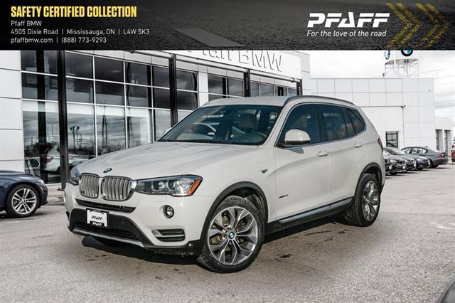 2017 BMW X3 xDrive28i in Mississauga, Ontario