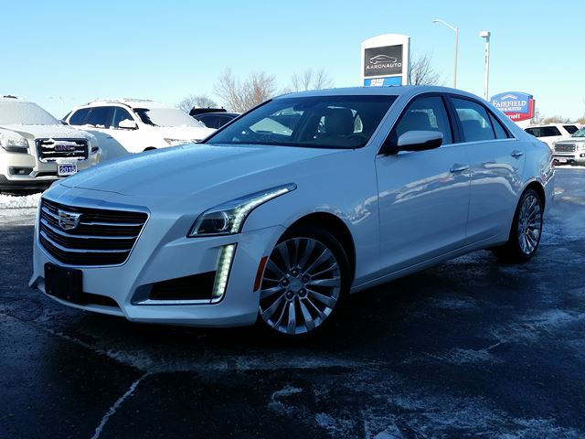 2015 CADILLAC CTS LUXURY AWD--NAVIGATION--HEATED AND COOLED SEATS in Belleville, Ontario