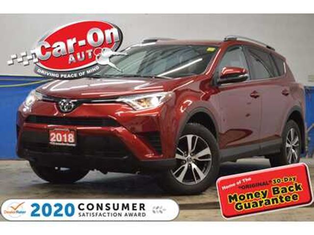 2018 TOYOTA RAV4 LE AWD REAR CAM HTD SEATS ADAPTIVE CRUISE LOADED in Ottawa, Ontario