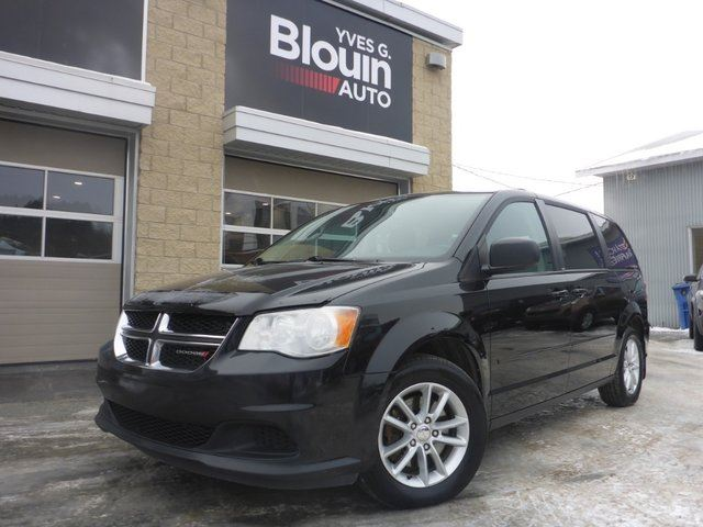 2013 DODGE Grand Caravan SXT Stow'N'Go TV/DVD in Sainte-Marie, Quebec