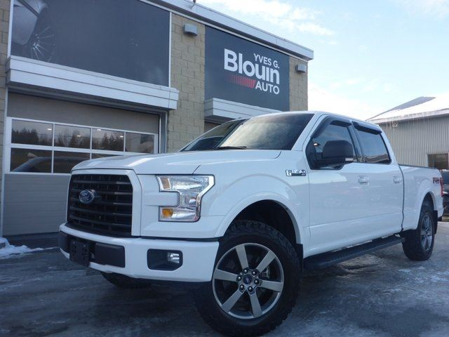 2017 FORD F-150 XLT FX4 302A 5.0L 4x4 in Sainte-Marie, Quebec