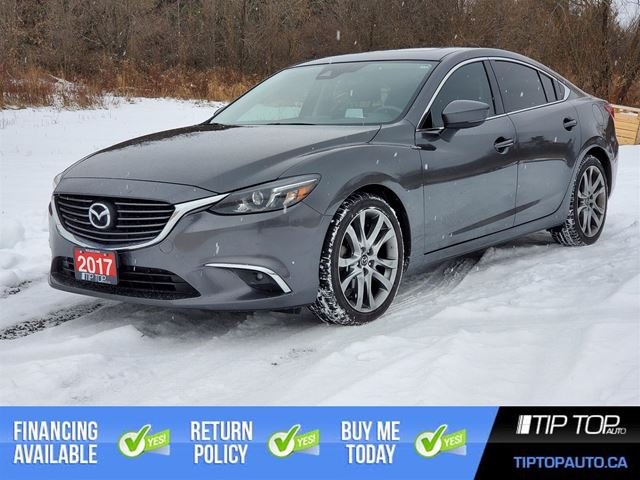 2017 MAZDA MAZDA6 GT ** 1 Owner, Clean CarFax, Nav, Leather, LOAD in Bowmanville, Ontario