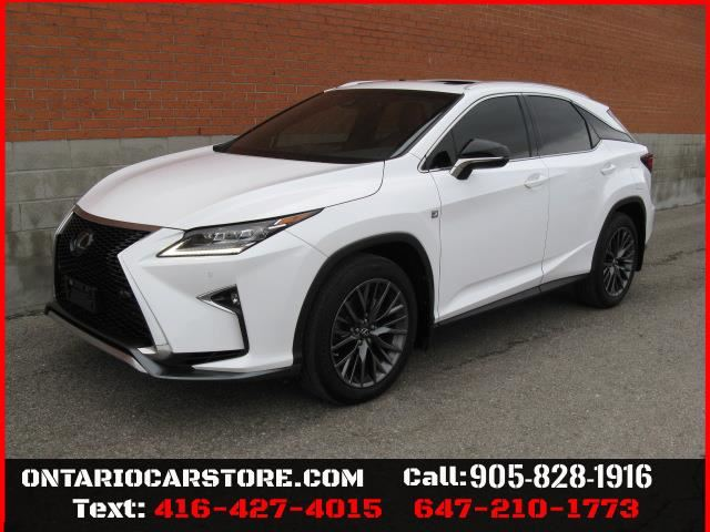 2017 LEXUS RX 350 AWD F SPORT SERIES 2 !!!1 OWNER NO ACCIDENTS!!! in Toronto, Ontario