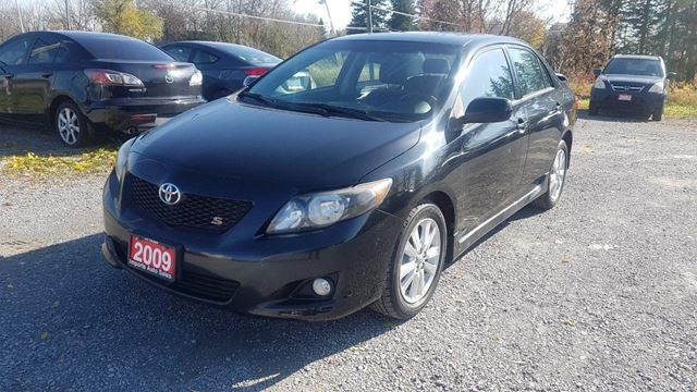 2009 TOYOTA COROLLA S AUTO POWER SUNROOF in Stouffville, Ontario
