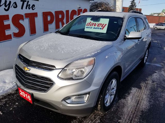 2016 Chevrolet Equinox 1LT Extra Clean! Low KMS! in