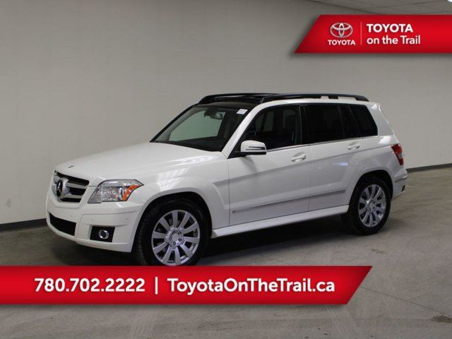 2010 MERCEDES-BENZ GLK-Class GLK 350; DUAL SUNROOF, LEATHER, HEATED SEATS, AWD, TRAILER HITCH in Edmonton, Alberta