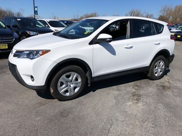 2015 TOYOTA RAV4 LE in Burlington, Ontario