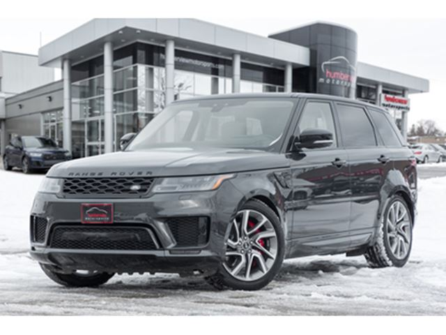2019 Land Rover Range Rover Sport SUPERCHARGED VENTED SEATS PANO ROOF MERIDIAN NAVI in