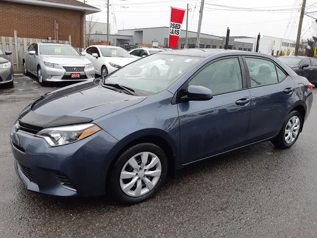 2016 TOYOTA COROLLA LE, AUTOMATIC, BLUETOOTH, HEATED SEATS, 53 KM in Ottawa, Ontario