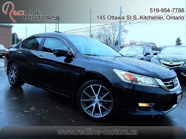 2013 HONDA ACCORD Touring.Navi.Camera.Leather.Roof.Super Clean in Kitchener, Ontario
